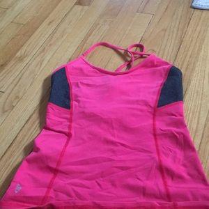 Ellie Pink Yoga Top.